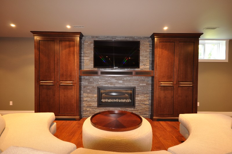 fireplace, fireplace mantel, entertainment unit, wall unit