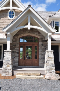 Wooden Front door, Wooden Entrance System